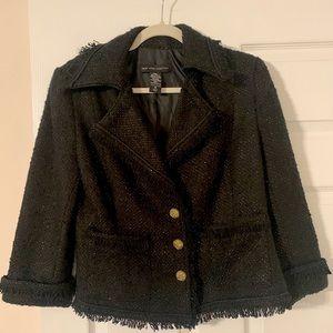 New York & Co Ladies Tweed Blazer